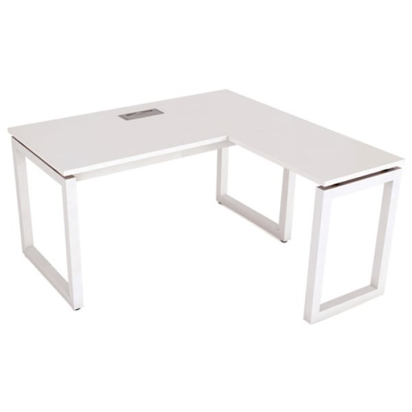 Mẫu bàn làm việc chữ L Hòa Phát