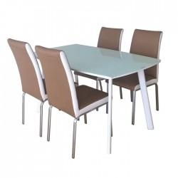 Bộ bàn ghế ăn B60,G60