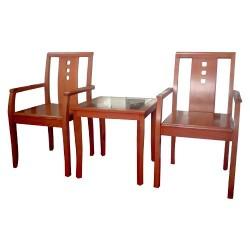 Bộ bàn ghế cafe khách sạn BKS02, GKS02