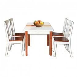 Bộ bàn ghế ăn BA117, GA117
