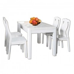 Bộ bàn ghế ăn BA119, GA119