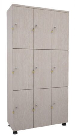 Tủ Locker gỗ DLG09