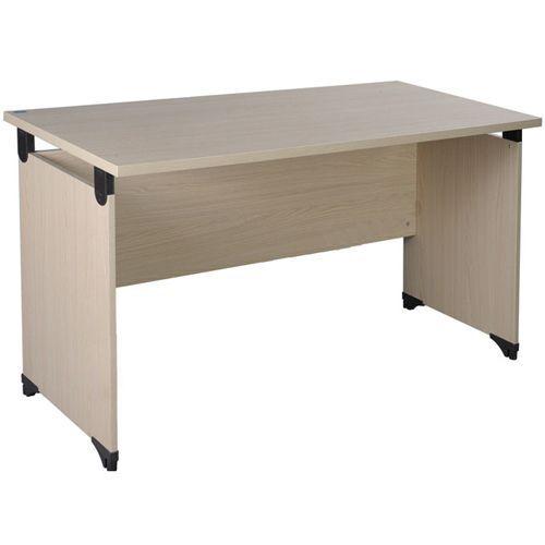 Sản phẩm bàn làm việc gỗ AT140SK được sản xuất chính hãng tại Hòa Phát.