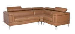 Sofa da gia đình SF502 của nội thất Hòa Phát