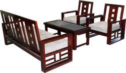 Bộ bàn ghế sofa gỗ SF72